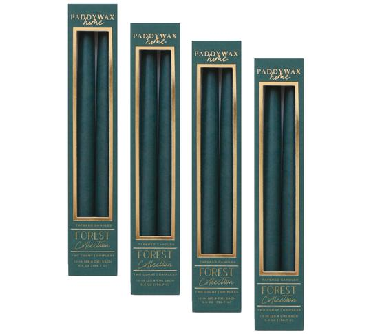 "Taper 10"" Forest Tall Boxed Candle 2/pk"