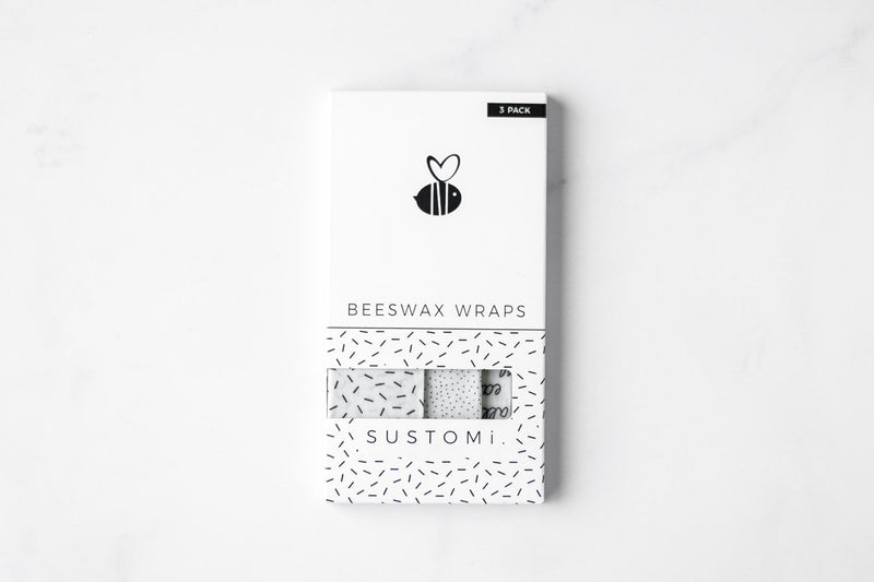 Beeswax Wraps-Pack of 3