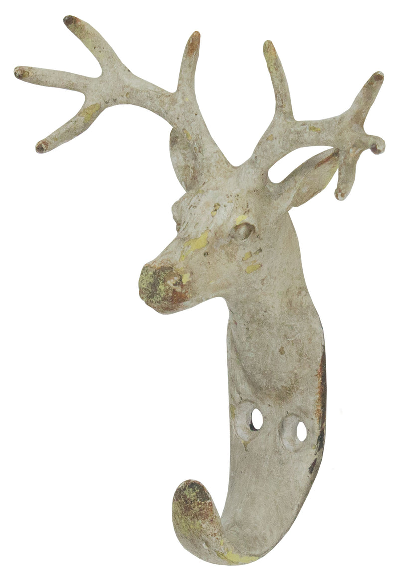 Deer Hook Pewter-Ant White