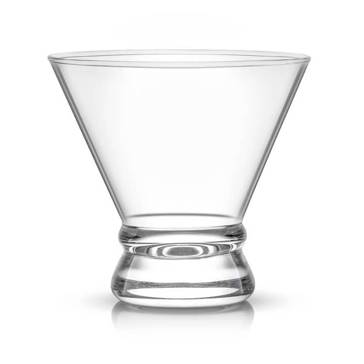 Afina Ribbon Martini Glasses S/4Shatter Resistant