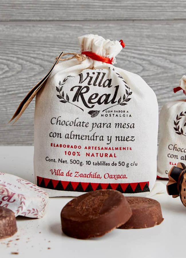 Real Mexican Hot Chocolate-5 Discs-Almond