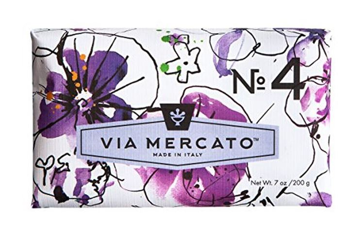 Bar Soap - Violets, Magnolia & Amber Via Mercato NO. 4