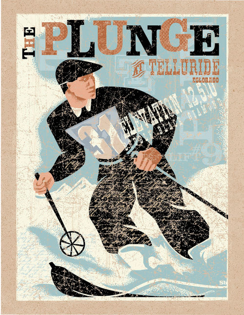 "The Plunge - Giclee Print - 11"" x 14"""