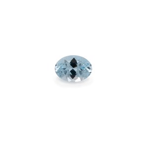 Aquamarine - B, oval, 7x5 mm, 0.6-0.75 cts, No. A18009