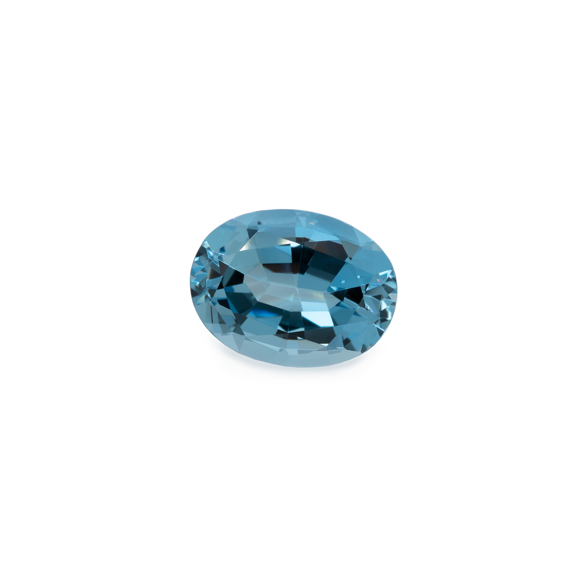 Aquamarin - AA, oval, 16x12 mm, 8,47 cts, Nr. A22002