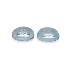 Aquamarin Paar - A, oval, 8x6mm, 2,7 cts, Nr. A48001