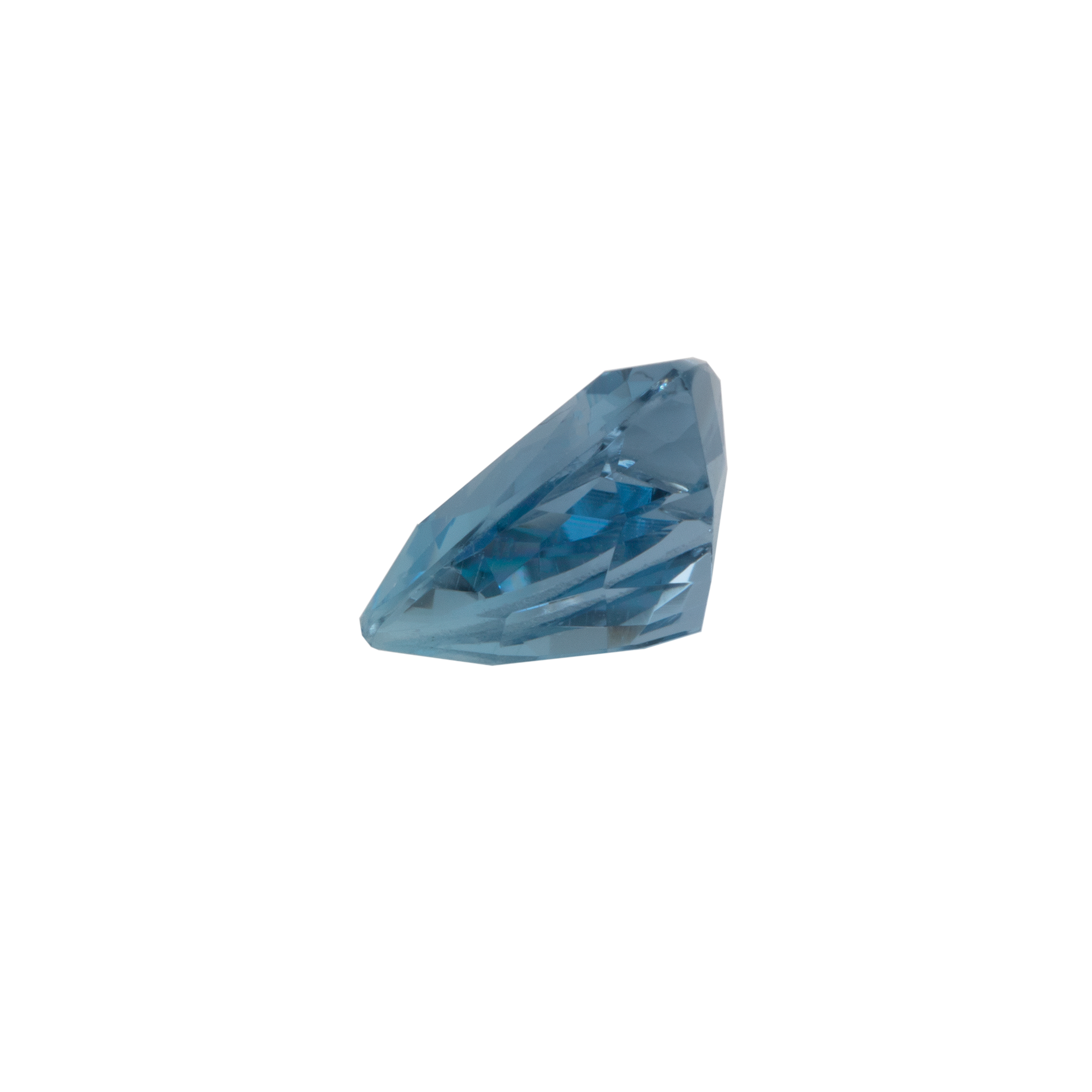 Aquamarin - AAA, trillion, 7,5x7,5 mm, 1,15 cts, Nr. A84003