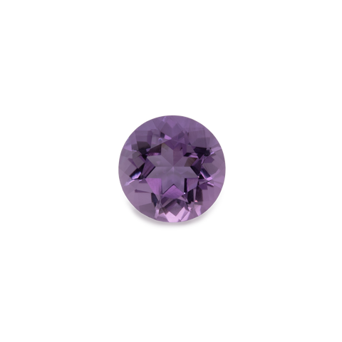 Amethyst - purple, round, 6x6 mm, 0.7-0.79 cts, No. AMY50001