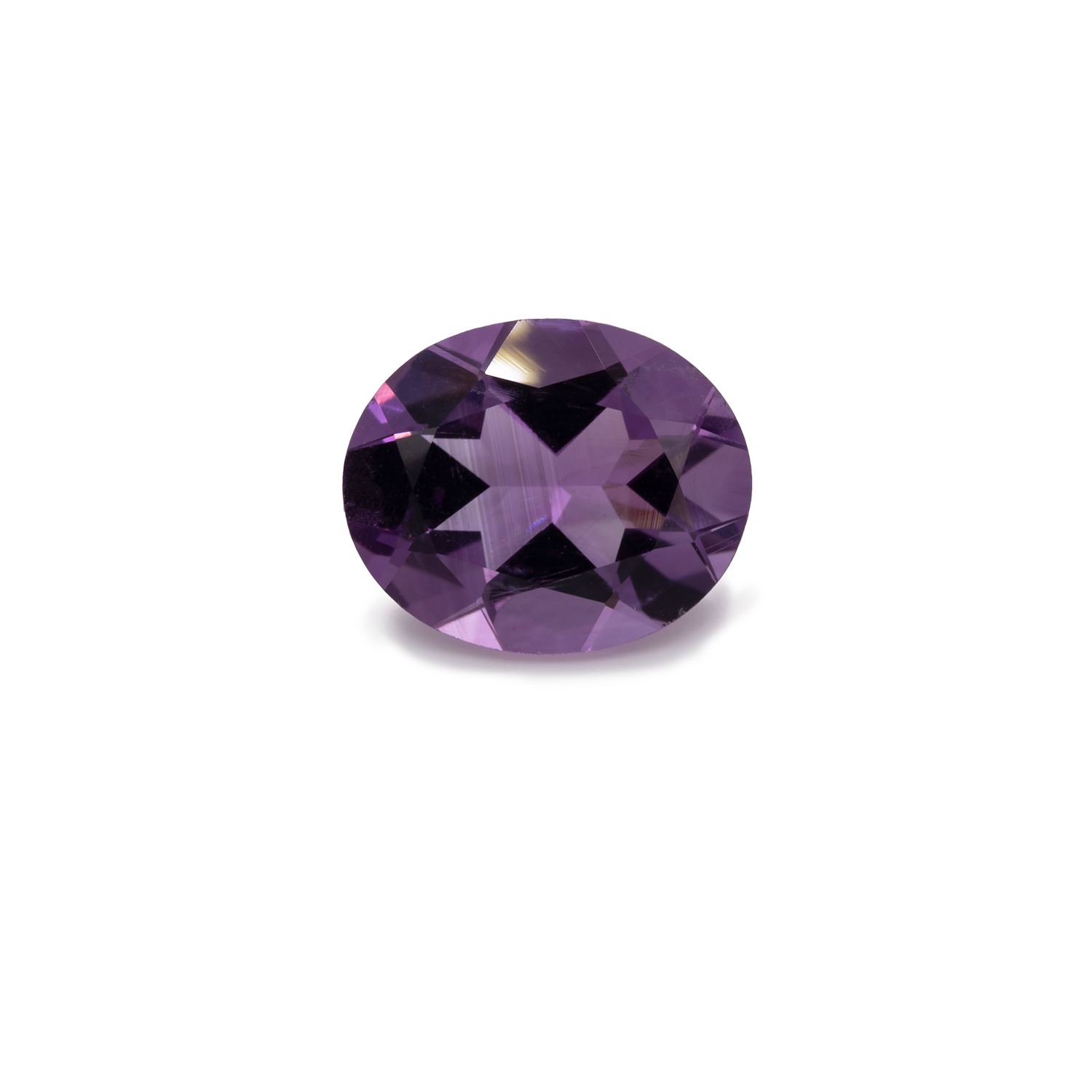 Amethyst - lila, oval, 11,1x9,1 mm, 3,00-3,80 cts, Nr. AMY55001