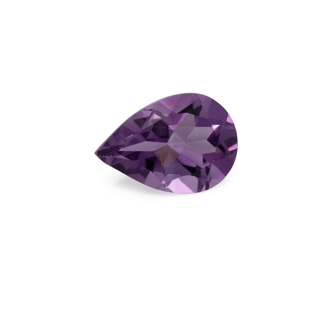 Amethyst - lila, birnform, 10x7 mm, 1,40-1,90 cts, Nr. AMY64001