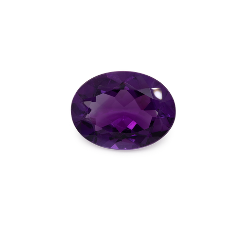 Amethyst - oval, lila, 16,1x12,1 mm, 7,34 cts, Nr. AMY76001