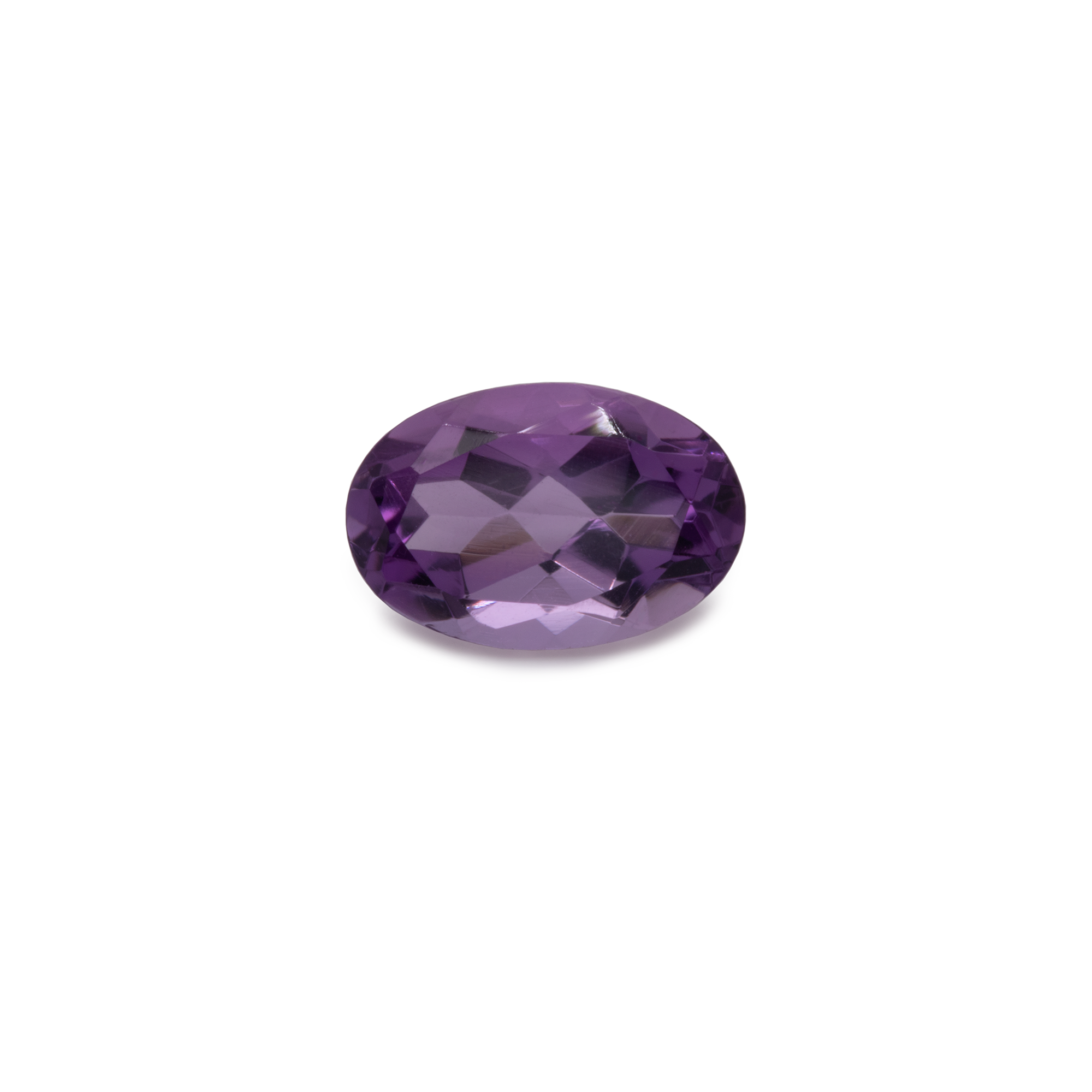 Amethyst - lila, oval, 6x4 mm, 0,48 cts, Nr. AMY80001