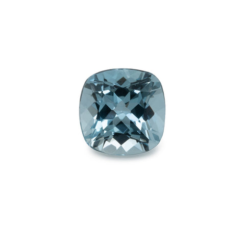 Aquamarine - AA, cushion, 8x8 mm, 2,02 cts No. A9002
