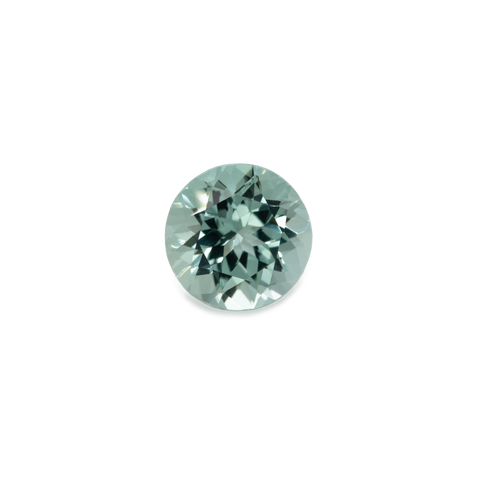 Beryl - green, round, 8x8 mm, 1.89 cts, No. BY12001