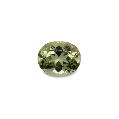 Beryl - yellow, oval, 10x8 mm, 2.41 cts, No. BY16001