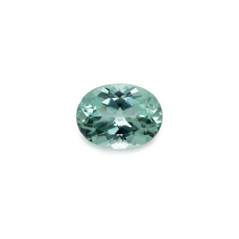 Beryl - green, oval, 12.7x9.8 mm, 4.9 cts, No. BY50001