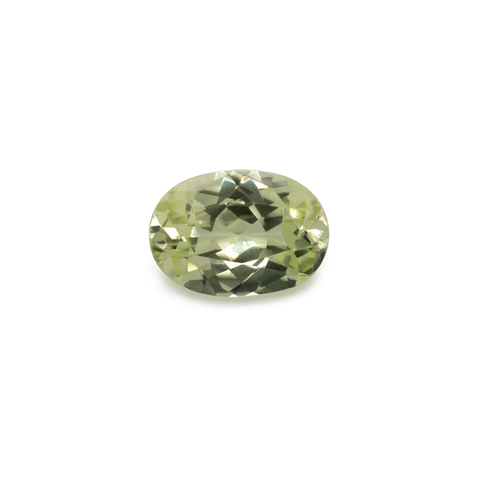 Chrysoberyl - yellow, oval, 7x5 mm, 0.86 cts, No. CHB40001