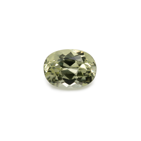 Chrysoberyl - yellow, oval, 8x6 mm, 1.58 cts, No. CHB50001