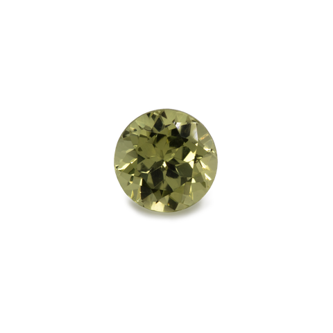 Chrysoberyl - yellow, round, 5.1x5.1 mm, 0.69 cts, No. CHB60001