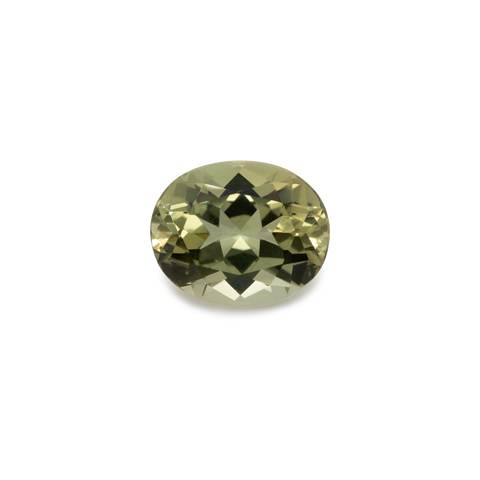 Chrysoberyl - yellow, oval, 10x8 mm, 2.51 cts, No. CHB80001