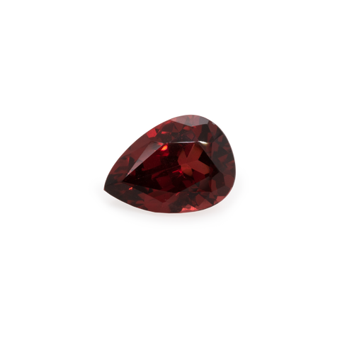 Garnet - red, pearshape, 7x5 mm, 0.9-0.95 cts, No. GR80001