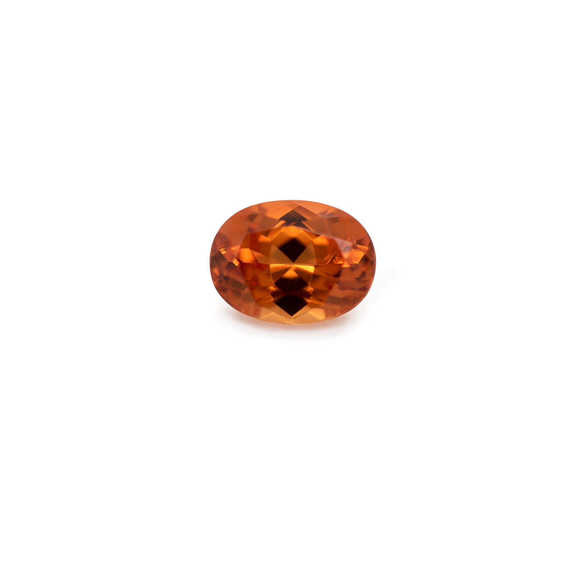 Mandarin Granat - orange, oval, 8x6 mm, 1,72 cts, Nr. MG20002