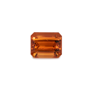 Mandarin Granat - orange, achteck, 11x9 mm, 7,07 cts, Nr. MG50002