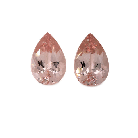 Morganite - pink, pearshape, 12x8 mm, 4.80 cts, No. MO46001