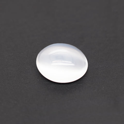 Moonstone - white, oval, 13.3x15.9 mm, 9.43 cts, No. MST10001