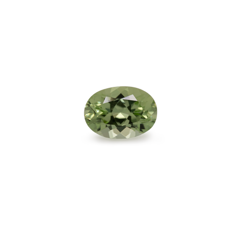 Peridot - green, oval, 7x5 mm, 0.86 cts, No. PR30001