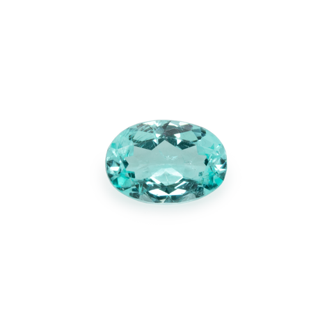Paraiba Tourmaline - blue/green, oval, 6x4.1 mm, 0.4 cts, No. PT11001
