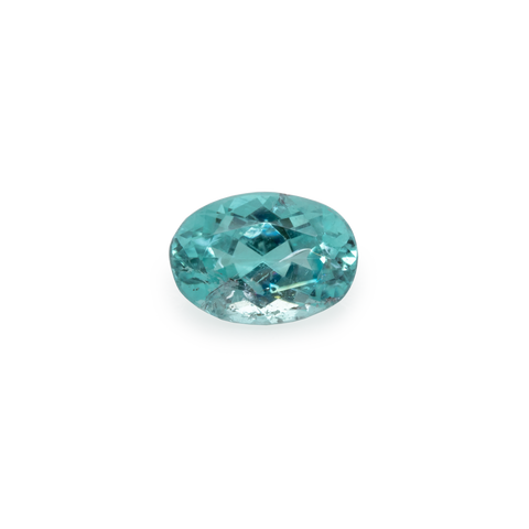 Paraiba Tourmaline - blue/green, oval, 6x4.1 mm, 0.45 cts, No. PT14001