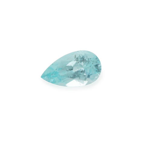 Paraiba Tourmaline - blue/green, pearshape, 7x4 mm, 0.48 cts, No. PT17001