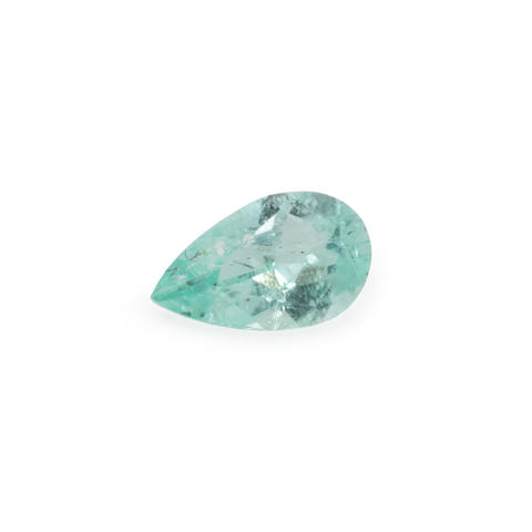Paraiba Tourmaline - green, pearshape, 5x3 mm, 0,16 cts, No. PT25001