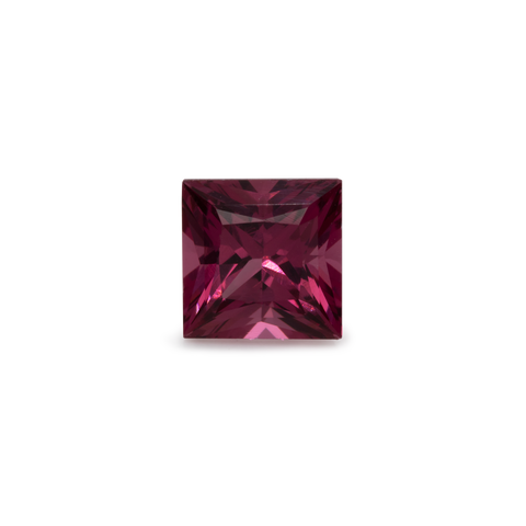 Rhodolite - red/purple, square, 4.5x4.5 mm, 0.54-0.59 cts, No. RD21001