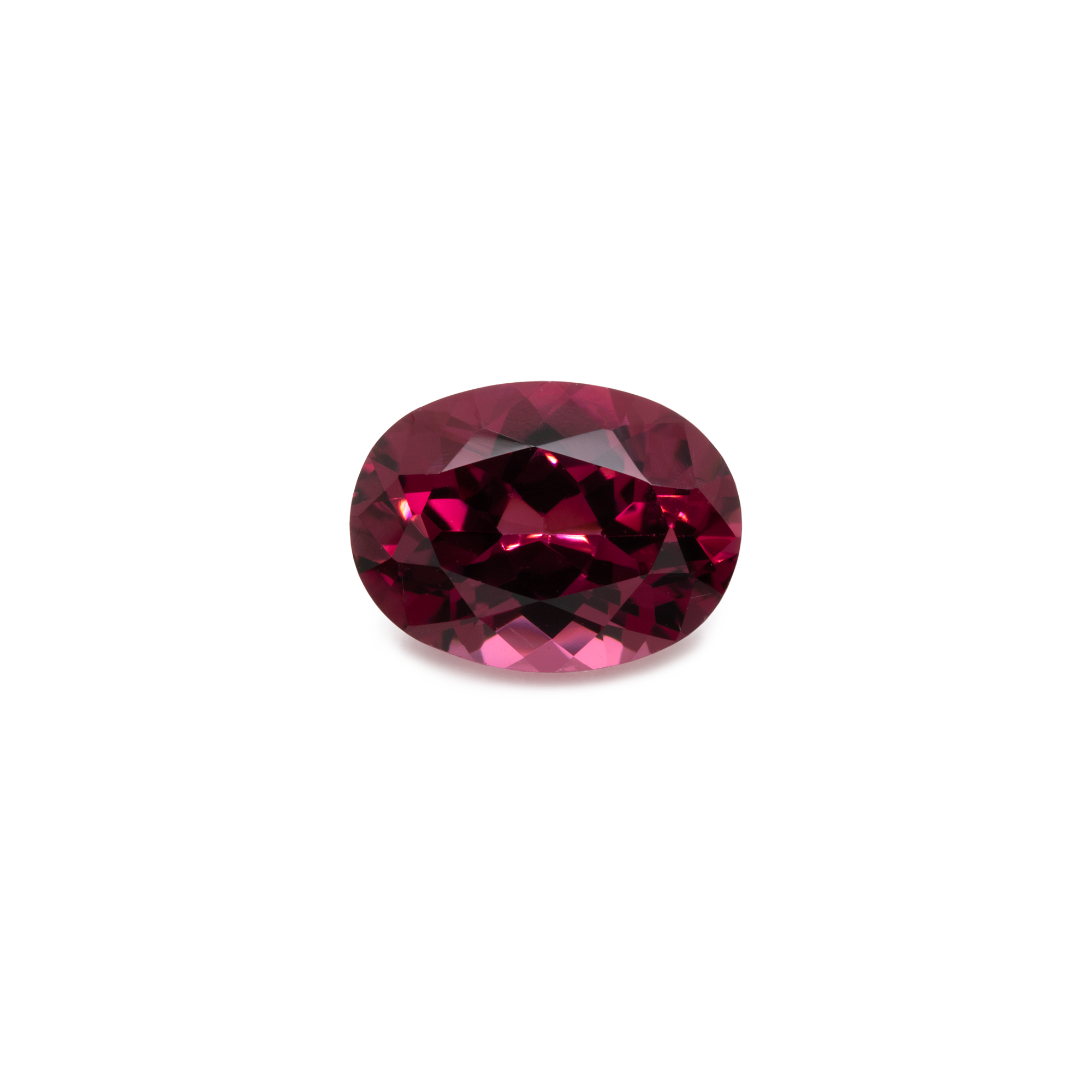 Rhodolith - rot, oval, 8x6 mm, 1,52-1,57 cts, Nr. RD60001