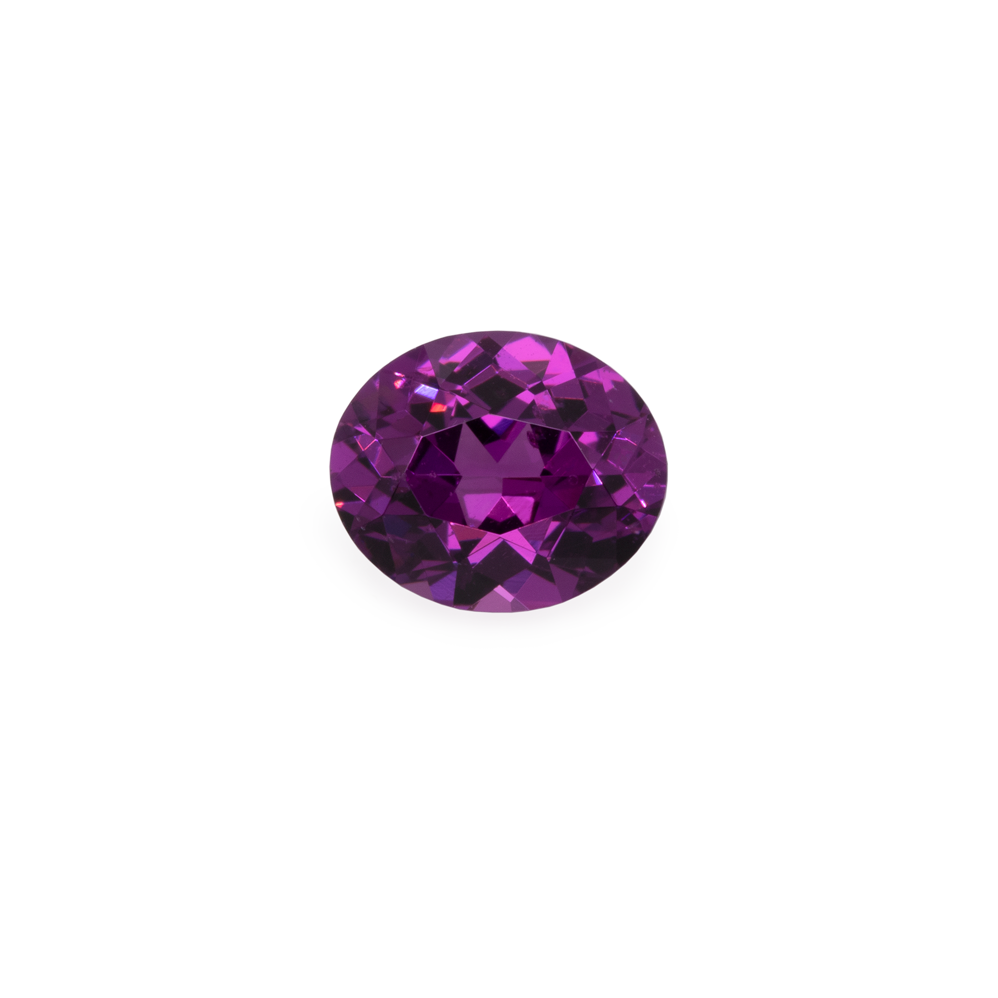 Royal Purple Garnet - lila, oval, 6x5 mm,  0,67-0,82 cts, Nr. RP15001