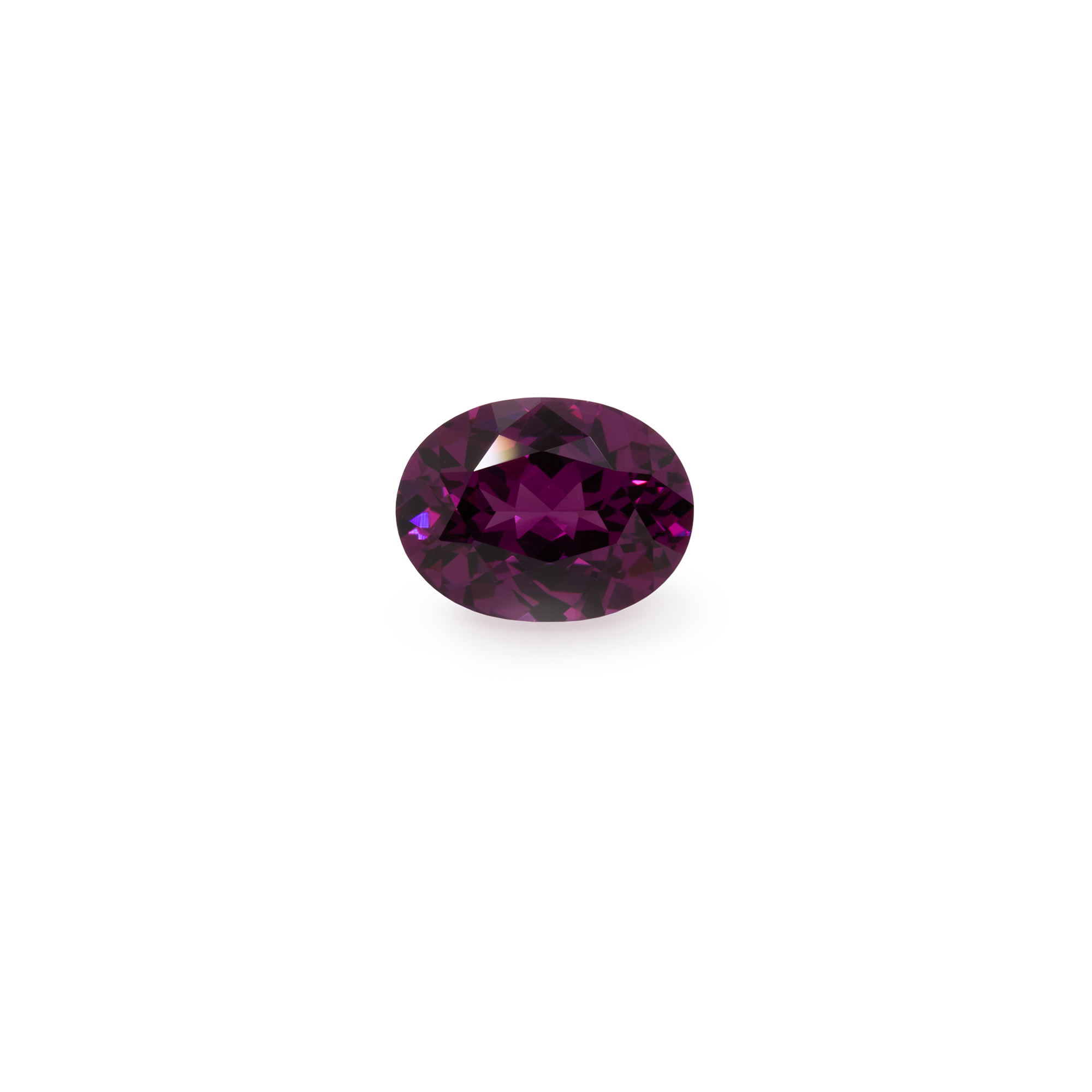 Royal Purple Garnet - lila, oval, 8x6 mm, 1,43 cts, Nr. RP20001