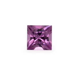 Royal Purple Garnet - lila, rechteck, 2x2 mm, 0,04-0,06 cts, Nr. RP25001