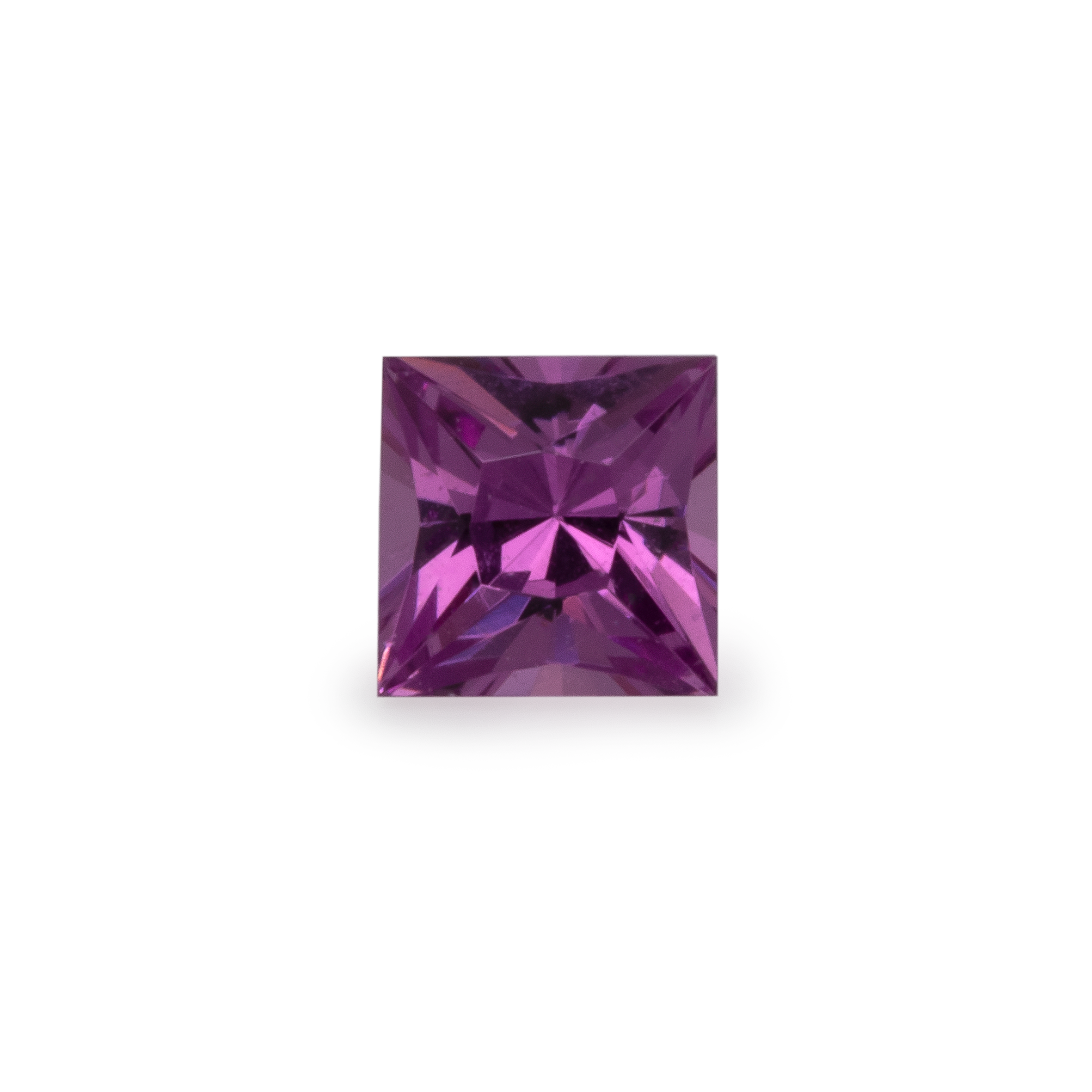 Royal Purple Garnet - lila, rechteck, 2,5x2,5 mm,  0,07-0,11 cts, Nr. RP26001