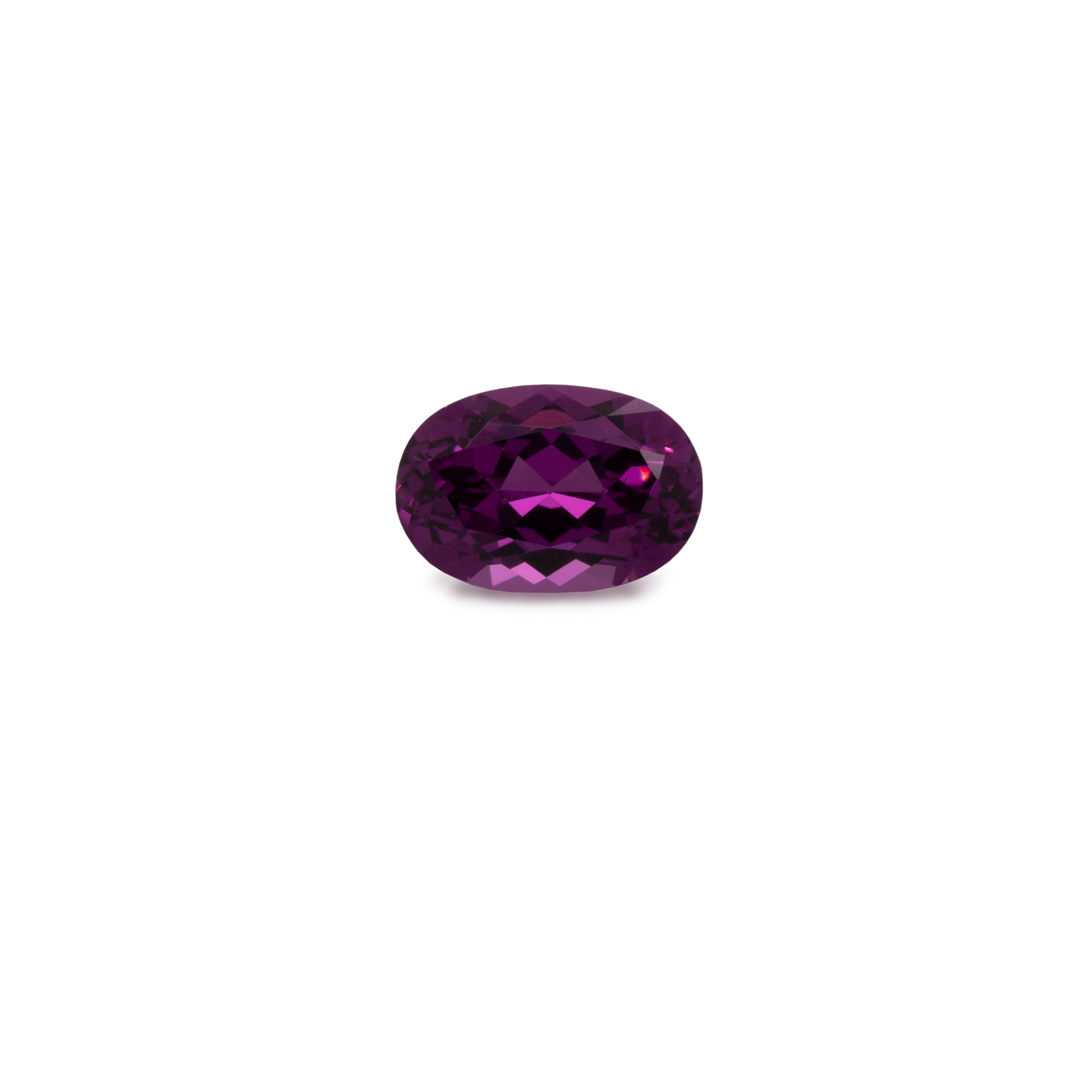 Royal Purple Garnet - lila, oval, 6x4 mm, 0,5-0,6 cts, Nr. RP30001
