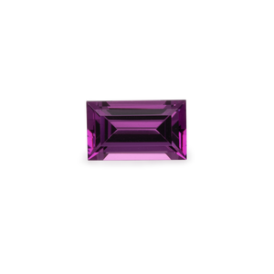 Royal Purple Garnet - lila, rechteck, 5x3 mm,  0,30-0,35 cts, Nr. RP49001