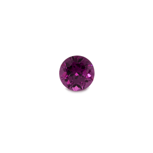 Royal Purple Garnet - lila, rund, 5,5x5,5 mm, 0,7-0,8 cts, Nr. RP50001