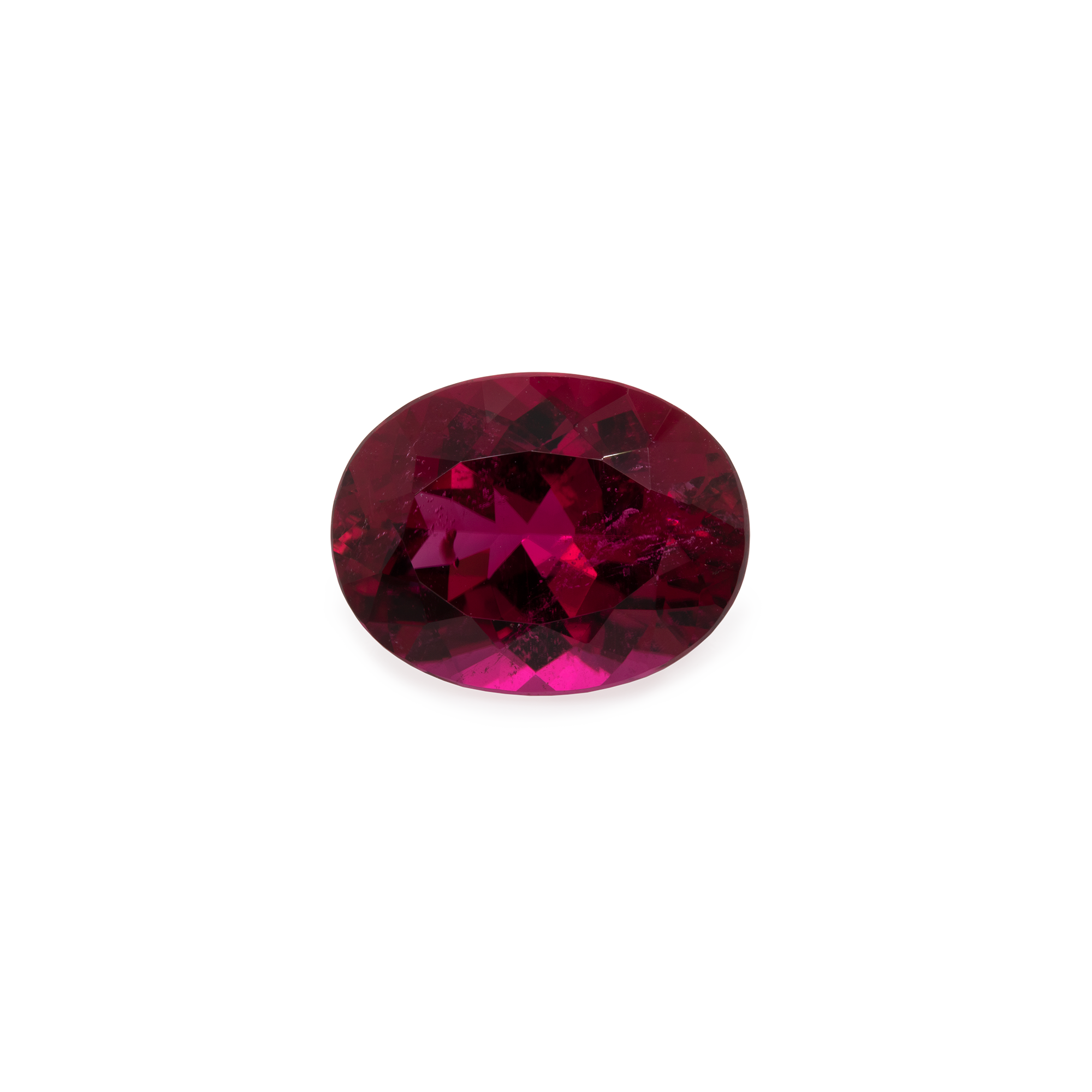 Rubellit - rot/pink, oval, 13,5x10,5x6 mm, 5,86 cts, Nr. RUB14001