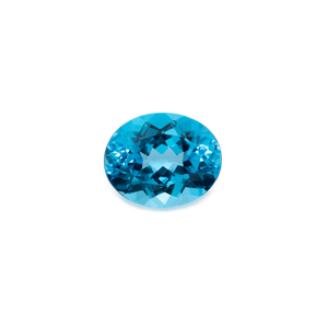 Topas - london blau, oval, 15x12,12 mm, 10,07 cts, Nr. TPZ20001