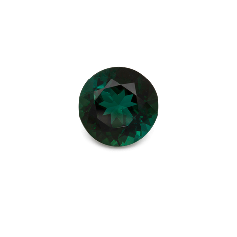 Tourmaline - green, round, 8x8 mm, 1.89 cts, No. TR99020