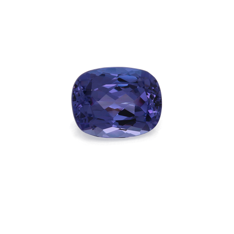 Tanzanite - AAA, cushion, 10x8 mm, 3.19 cts, Nr. TZ99005