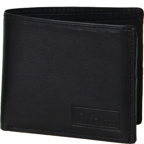 Cobb & Co-Leather Trifold Mens Wallet-BLACK-Mens Wallet |Gabee.com.au leather, Bags & Accessories since 1949 - 1