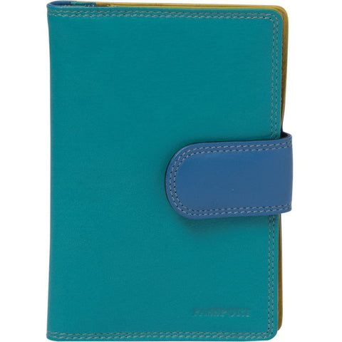 Gabee-Evie Leather Passport Holder-TEAL-Womens Wallet |Gabee.com.au leather, Bags & Accessories since 1949 - 5