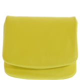 Gabee-Druva Lea Coin Leather Purse/Full Flap Over-YELLOW-Leather Accessories - Gabee Bags | Gabee.com.au - 5